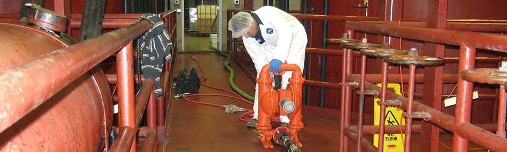 Vegetable Oil Spill Cleanup