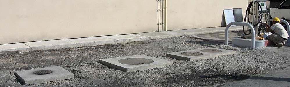 Herb Chambers BMW Gas Pump and Underground Storage Tank installation