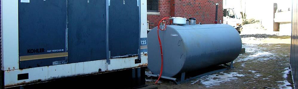 Radisson Hotel Emergency Generator Day Tank