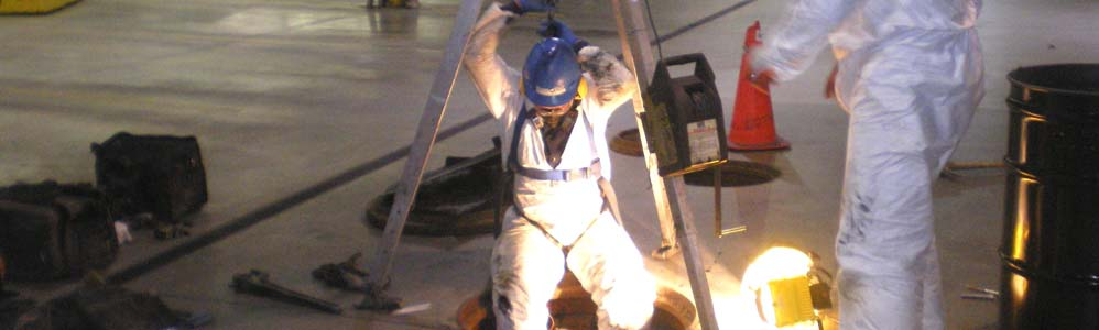 FedEx Express Ship Center Oil Water Separator Relining