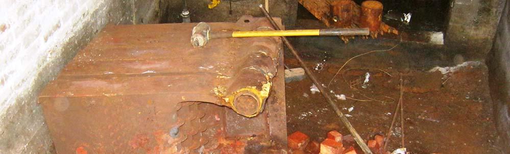 Howe School Steam Boiler Removal