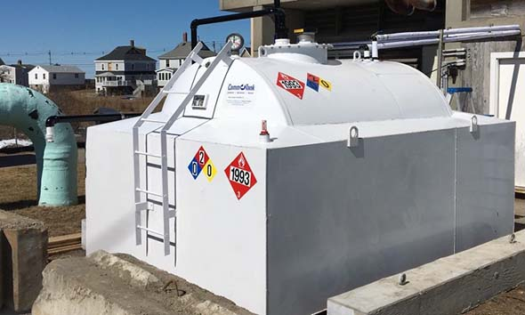 Fuel tank rental for standby generator