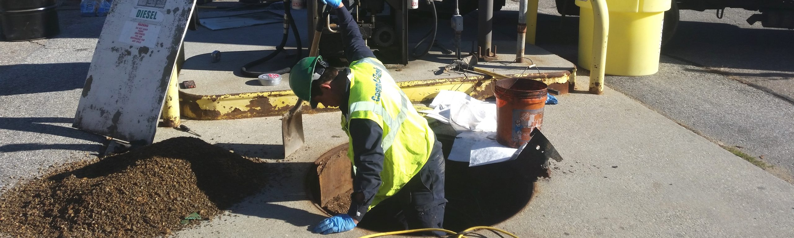 UPS Diesel Storage Tank Removal