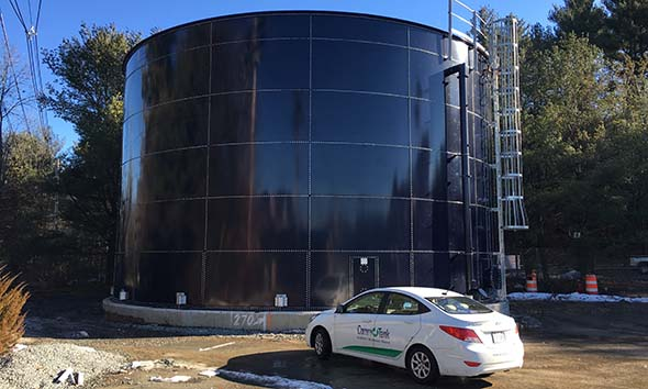 fire protection water tank