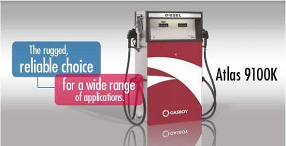 Gasboy Atlas 9100K Series Fuel Dispenser