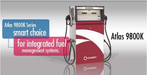 Gasboy Atlas Series 9800K fuel dispenser