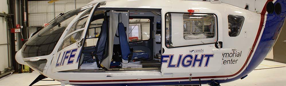 Umass Medical Lifeline Helicopter