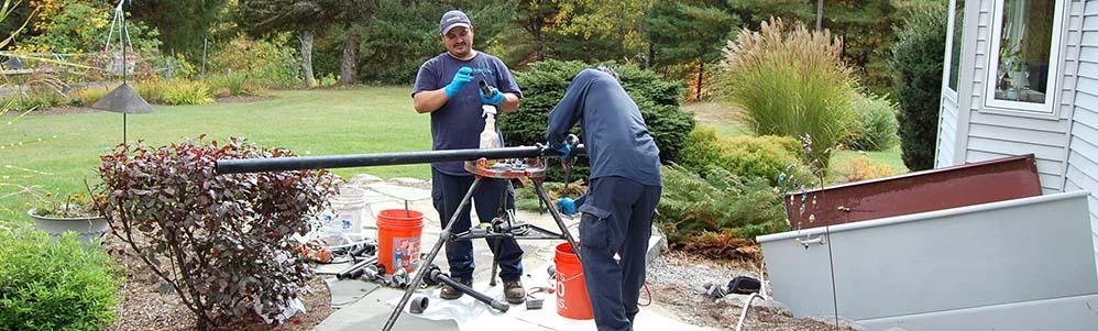 Common Earth Farm – Basement Oil Tank Upgrade