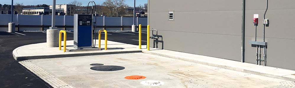 Herb Chambers Lincoln/Volvo UST and Fuel Dispenser Installation