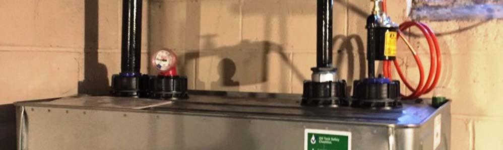 Roth Heating Oil Tank Installation