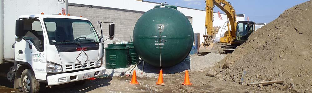 Kelly Volkswagen Underground Gasoline Storage Tank Installation