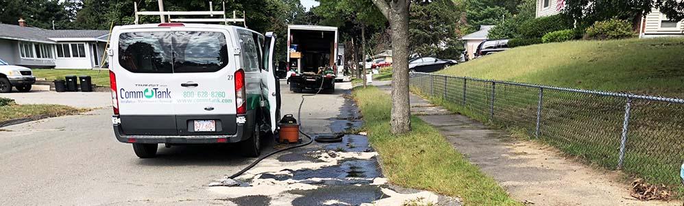Emergency Oil Tank Spill Peabody Mass