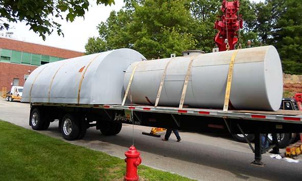 generator storage tank removal