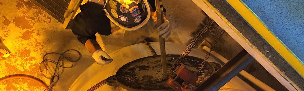 Pressure Vessel Rubber Lining Repair