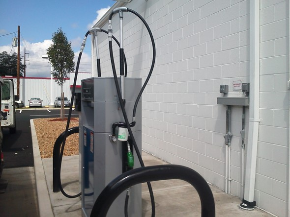 New Gas Dispenser installed at Kelly Automotive