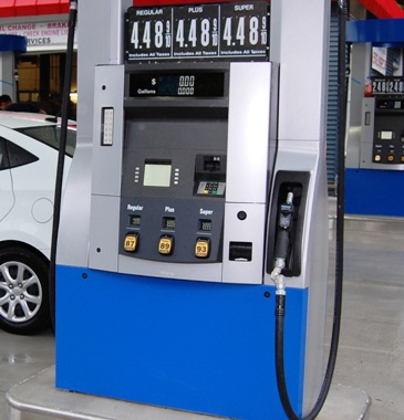 Wayne Fuel Dispenser with EMV card hardware