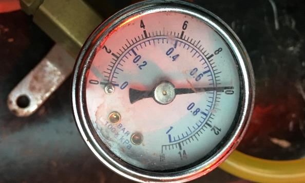 Fuel lines pressure tested at 10 PSI