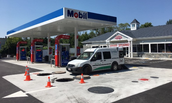 Completed Mobile gas station overhaul.