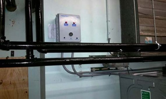 Roth tank piping at Mary Immaculate Health/Care Services
