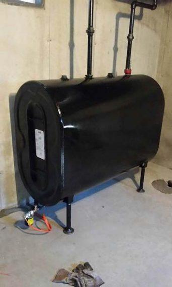 New Granby Standard oil tank
