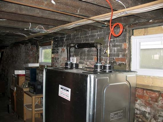 Roth tank installed in Bedford, Massachusetts