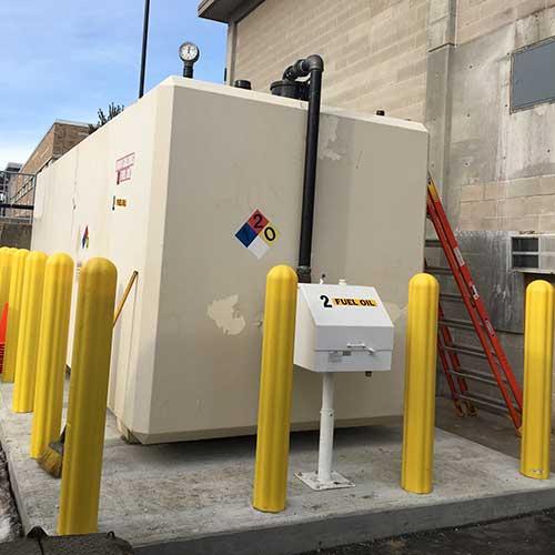 Diesel fuel tank rental.