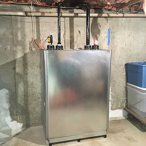 Roth double-wall oil tank replacement