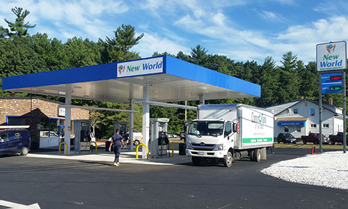 Gas Station Underground Fuel Tank